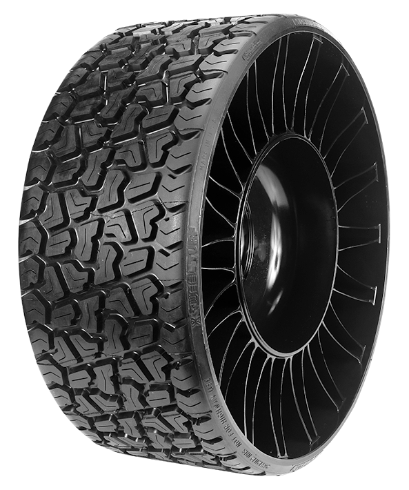 MICHELIN X TWEEL Turf for Utility Carts and Utility Vehicles